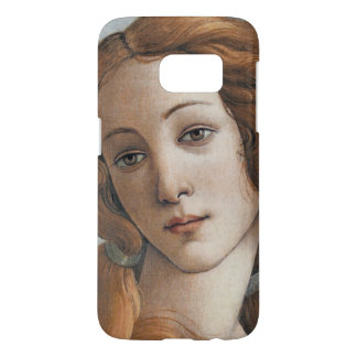 Birth of Venus close up head Samsung Galaxy S7 Case