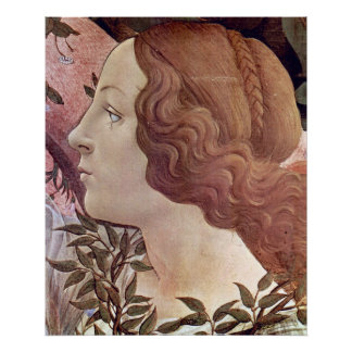 Birth of Venus Detail 2 by Botticelli Posters