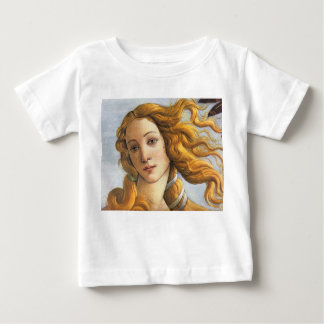 Birth of Venus detail, Botticelli Baby T-Shirt