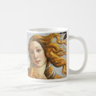 Birth of Venus detail Botticelli Coffee Mugs