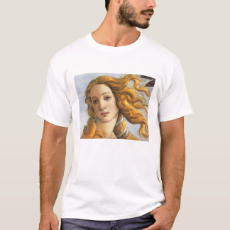 Birth of Venus detail, Botticelli T-Shirt