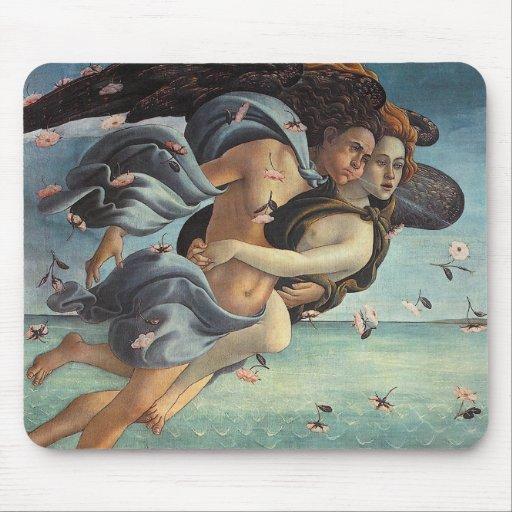 Birth of Venus, Detail - Mythological Couple Mousepad