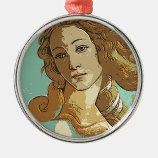 Birth of Venus, Goddess Metal Ornament