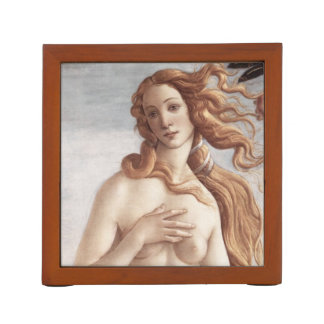 Birth of Venus in detail by Sandro Botticelli Pencil Holder