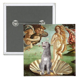 Birth of Venus-Irish Wolfhound #6 Pin