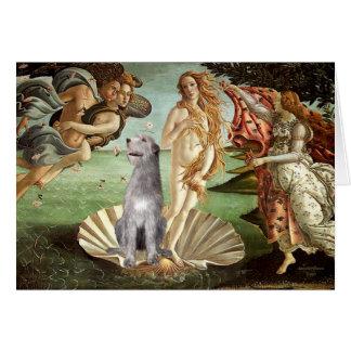Birth of Venus-Irish Wolfhound #6 Greeting Cards