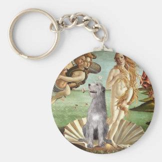Birth of Venus-Irish Wolfhound #6 Key Chains