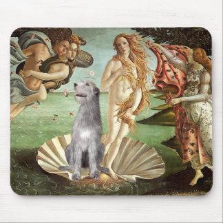 Birth of Venus-Irish Wolfhound #6 Mousepad