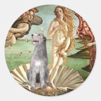 Birth of Venus-Irish Wolfhound #6 Sticker