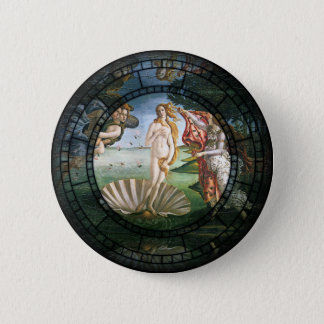 Birth of Venus Motif Pinback Button