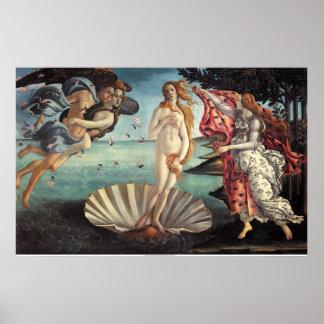Birth of Venus Poster