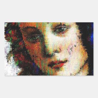 Birth Of Venus Rectangular Sticker