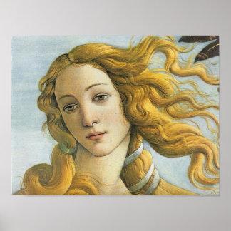 Birth of Venus Renaissance Fine Vintage Poster
