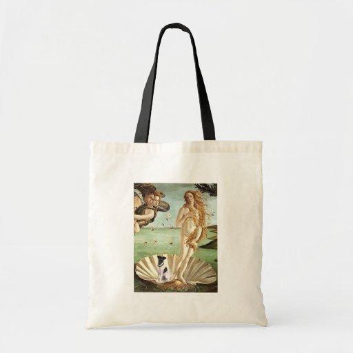 Birth of Venus - Smooth Fox Terrier Tote Bag
