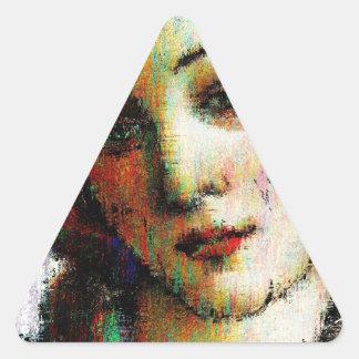 Birth Of Venus Triangle Sticker