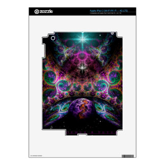 """""""Birth Of Worlds"""" by Christopher R Peters iPad 3 Decals"""
