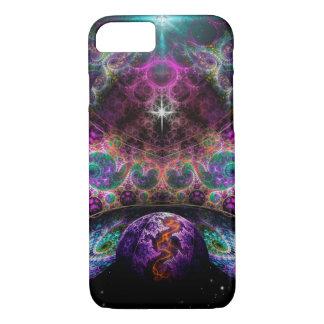 Birth of Worlds Fractal Art Custom Phone Case