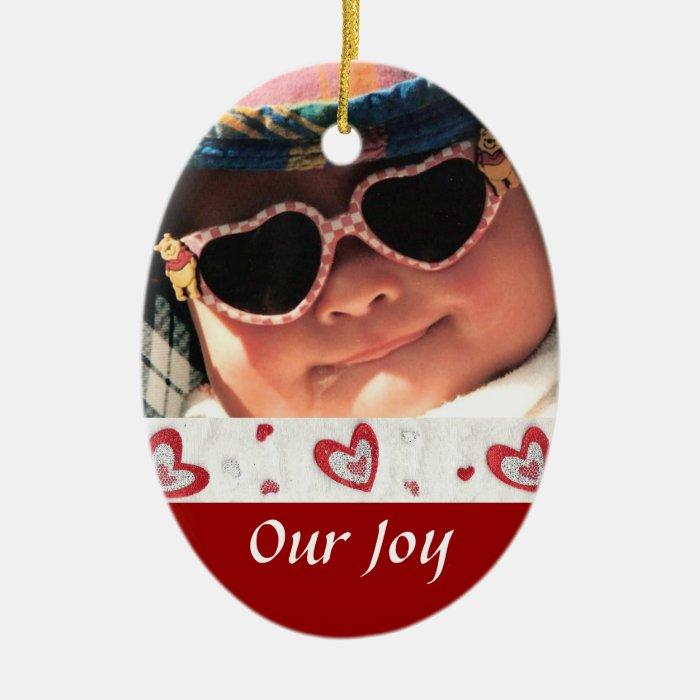 Birth or Adoption Keepsake Ceramic Ornament