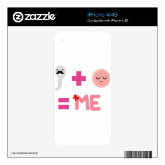birth process of daughter skin for the iPhone 4S