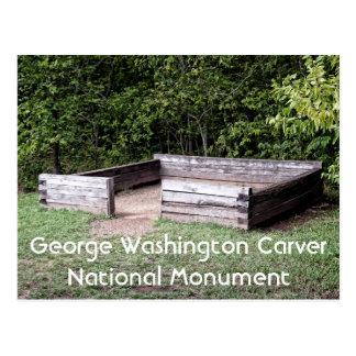 Birth Site of George Washington Carver, Monument Postcard