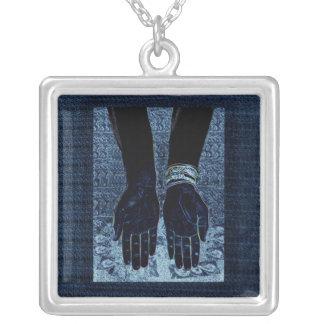Birth Square Pendant Necklace