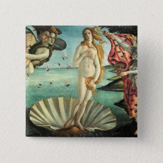Birth Venus Botticelli Pinback Button