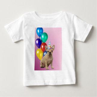Birthay French Bulldog Baby T-Shirt