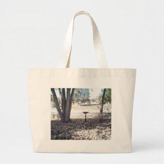 Birthbath in Fall Tote Bag