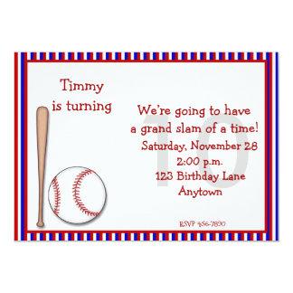 Birthday 10th Baseball Card