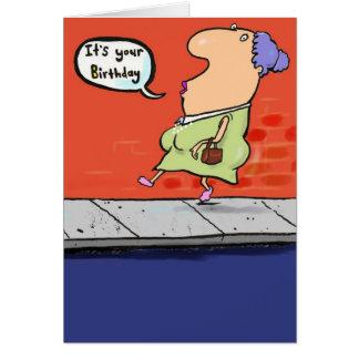 Birthday 17 greeting card