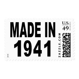 Birthday 1941 postage