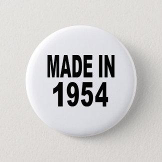 Birthday 1954 button