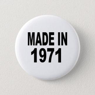 Birthday 1971 button