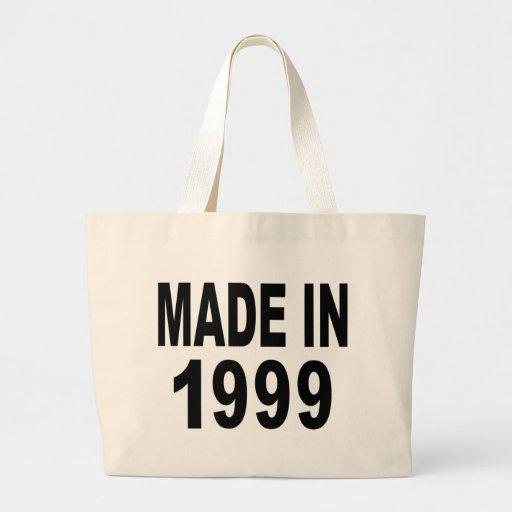 Birthday 1999 canvas bags