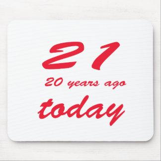 birthday 41 mouse pad