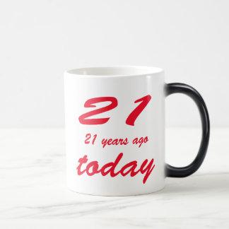birthday 42nd 11 oz magic heat Color-Changing coffee mug