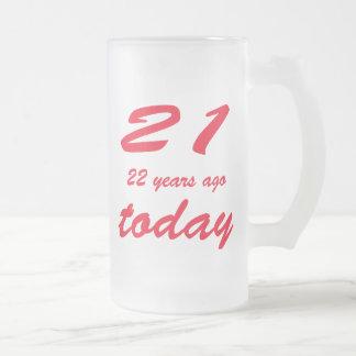 birthday 43 coffee mug