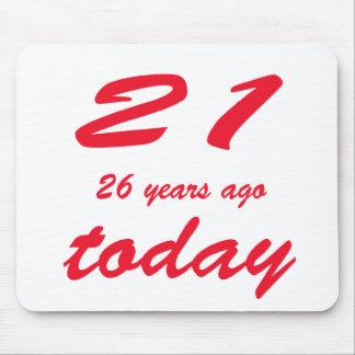 birthday 47 mouse pad
