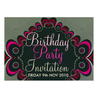 Birthday + All Occasion Party Invitation Card