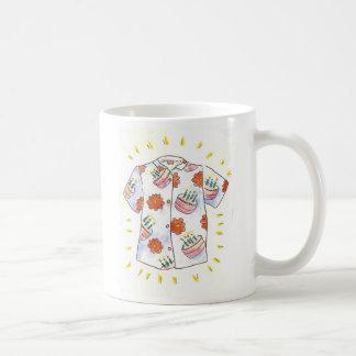 Birthday Aloha Style, Hau'oli La Hanau! Classic White Coffee Mug