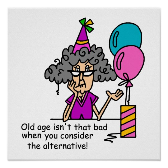 Birthday Alternative Humor Poster