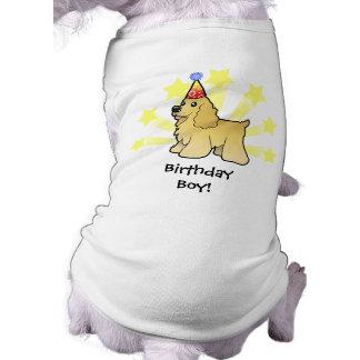 Birthday American Cocker Spaniel Shirt
