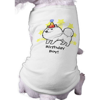 Birthday American Eskimo Dog / German Spitz T-Shirt