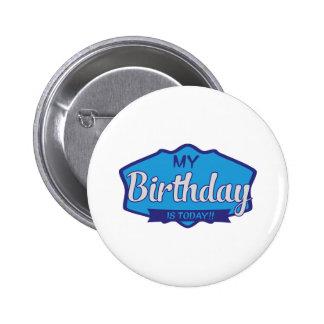birthday anstecknadelbutton