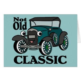 Birthday Antique Car Card