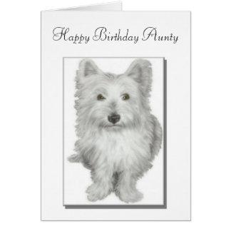 Birthday Aunty card