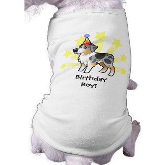 Birthday Australian Shepherd Tee