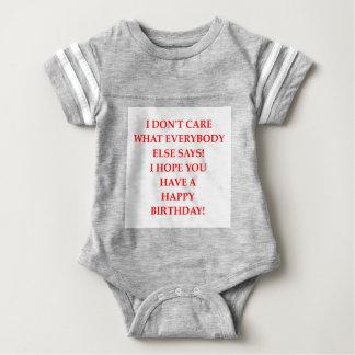 birthday baby bodysuit