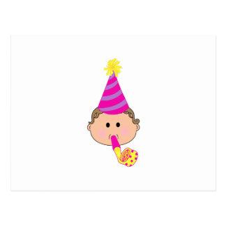 BIRTHDAY BABY POST CARD