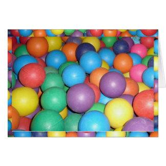 Birthday Ball 2 Stationery Note Card